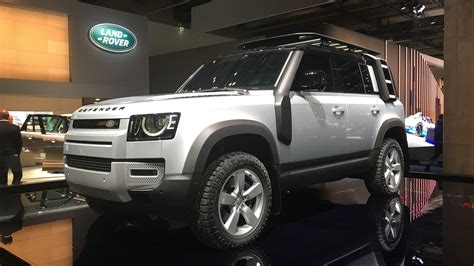 New 2020 Land Rover Defender Facts and Figures Video