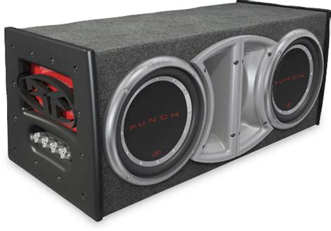 """Rockford Fosgate PL1-212 Punch Stage 1 dual 12"""" ported"""