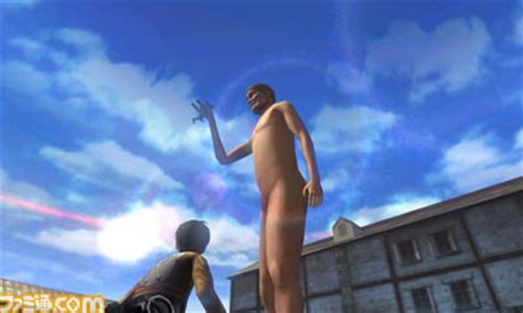 """Crunchyroll - """"Attack on Titan"""" 3DS Screenshots Are Hungry"""