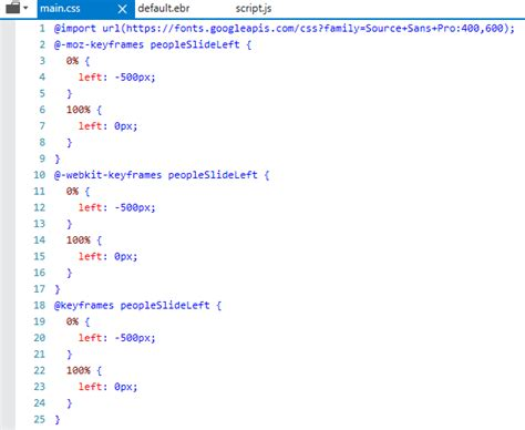 html - CSS Animations won't play inside iframe on IE11