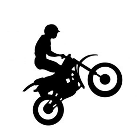 Motocross - Hot and Cool - AUTOAUFKLEBER